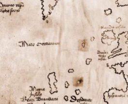 Карта Винланда, 15 век,
