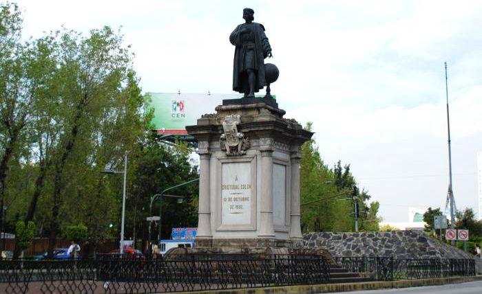 Колумб, Мексика, статуя,