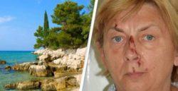 На хорватском острове Крк найдена женщина — она не помнит кто она и как туда попала