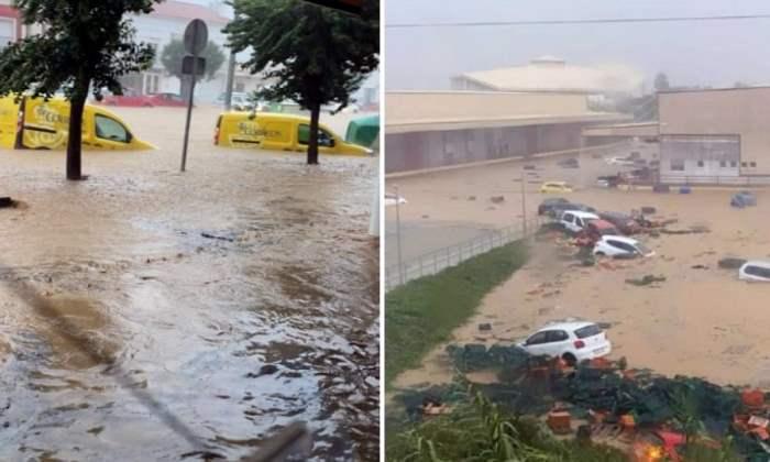 Лепе, Испания, наводнение,