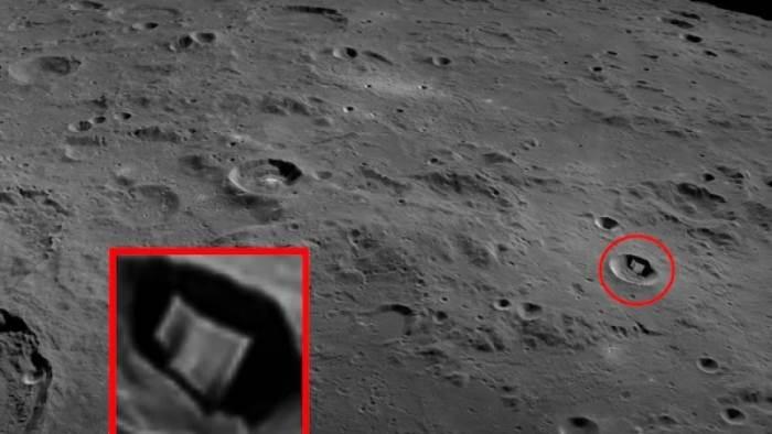 Луна, кратер, Скотт Уоринг,