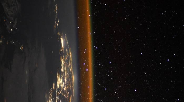 МКС, край Земли, Французский астронавт,