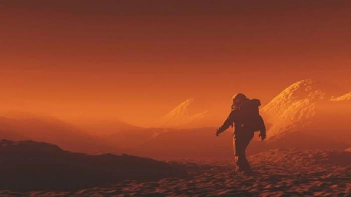 Марс, излучение, радиация,
