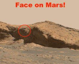 Марс, лицо,