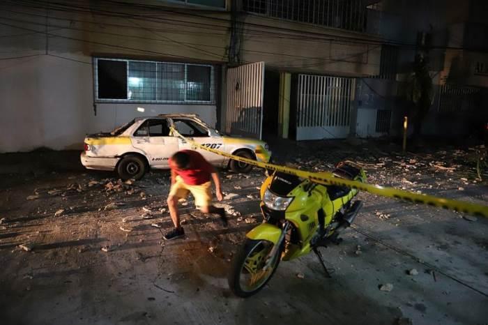 Мексика, землетрясение,