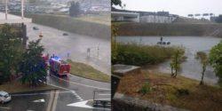 В Милане затопило аэропорт и дороги вокруг него (ВИДЕО)