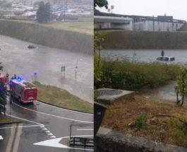 Милан, аэропорт, затопление,