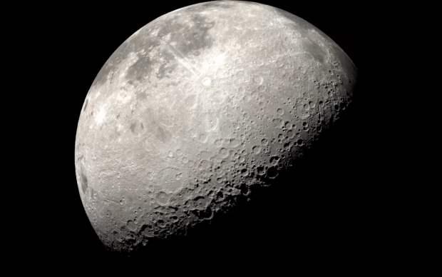 НАСА, Луна, вода,