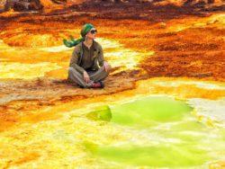 Пруд Гаэт'але — самый соленый водоем на Земле