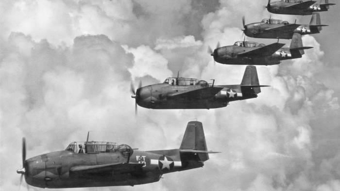 Самолеты, Вторая Мировая война, Бермудский треугольник, Рейс 19,