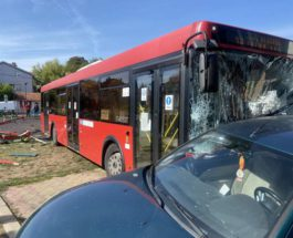 Сербия, автобус, детская площадка,