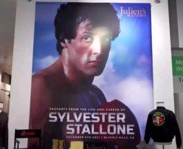 Сильвестр Сталлоне, Культовые вещи, торги,
