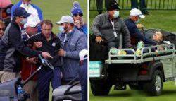 Звезда сериала «Гарри Поттер» Том Фелтон упал в обморок на матче в гольф