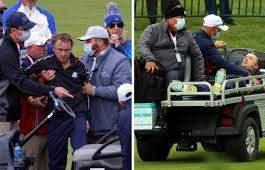 Том Фелтон, гольф, обморок,