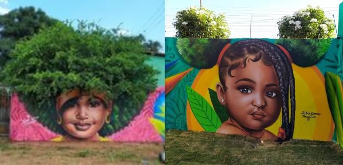 Фабио Гомеш Триндади, Бразилия, стрит-арт, художник, граффити,