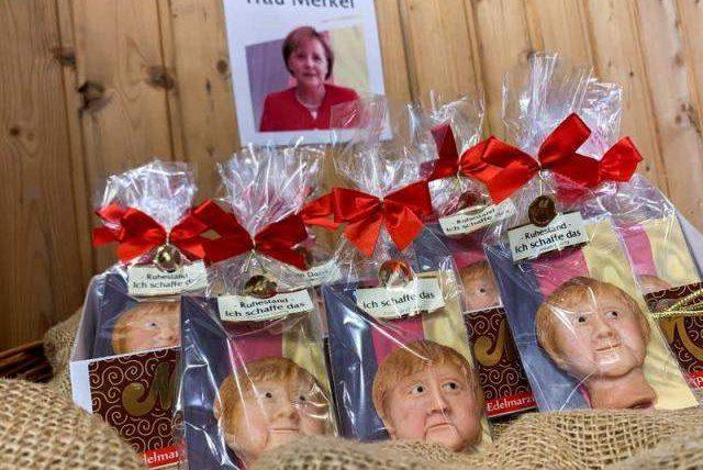 кондитерская, марципан, Ангела Меркель,