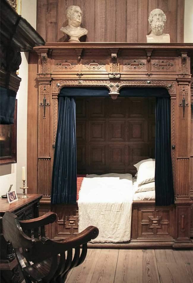 кровати, ящики, древняя Европа, кровати-ящики,