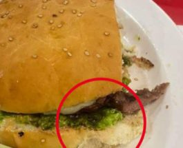 палец, гамбургер, ресторан,