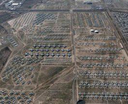 самолеты, США, кладбище самолетов,