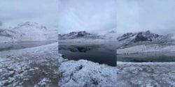 Первый снег выпал и в Турции (ФОТО)