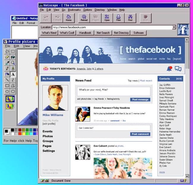 сайты, 90-е годы,
