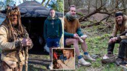 Британец Уилл Лорд одичал — живет в палатке, ест сырое мясо и охотится на животных