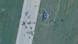 Бомбардировщик B-2 Spirit ВВС США разбился во время аварийной посадки в Миссури