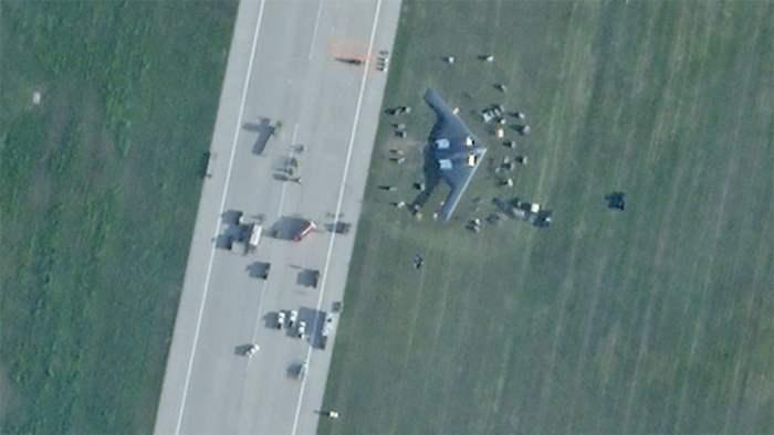 B-2 Spirit, Миссури, авария, бомбардировщик,