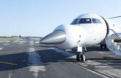 Bombardier CRJ700 APG-83 SABR — очень необычный самолет