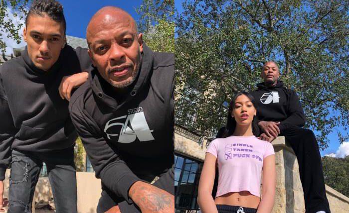 Dr. Dre, дочь, машина,