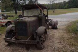 Завели грузовик GMC 1929 года (ВИДЕО)