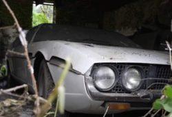 Lamborghini Espada нашли в заброшенном сарае после 30 лет забвения