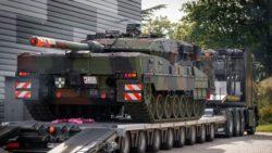 Немецкая армия получила последнюю версию легендарного танка Leopard 2 — 2A7V