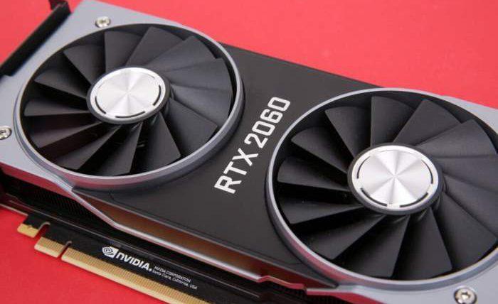 RTX 2060, 12 GB, видеокарта,