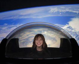 SpaceX, Dragon Capsule, окно,