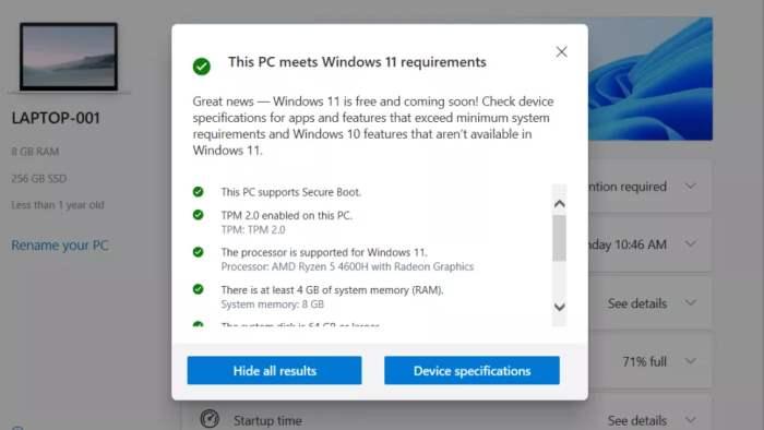 Windows 11 PC Health, TPM 2.0, Windows 11,