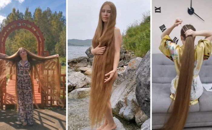 Анжелика Баранова, Рапунцель, Иркутск, локоны, длинные волосы,