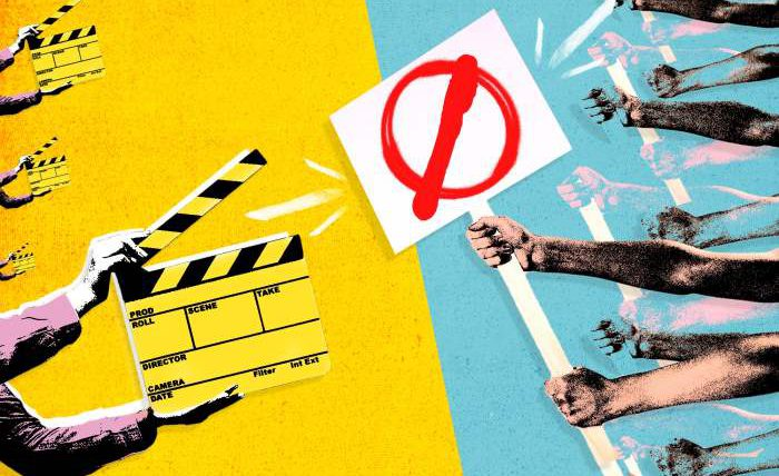 Голливуд, протесты,