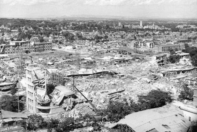 Китай, землетрясение, Таншань, 1976,