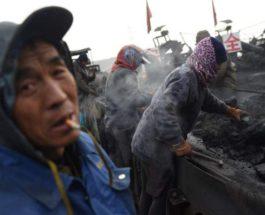Китай, уголь,