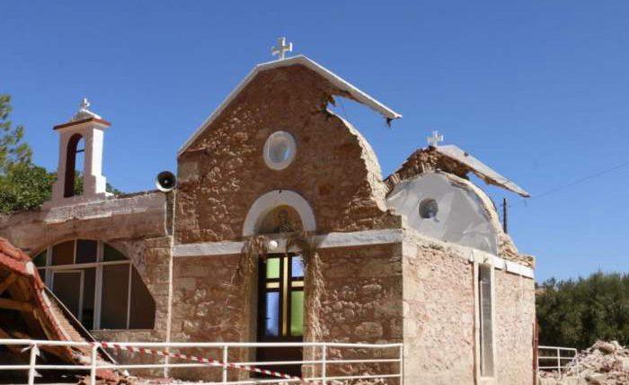 Крит, землетрясение,