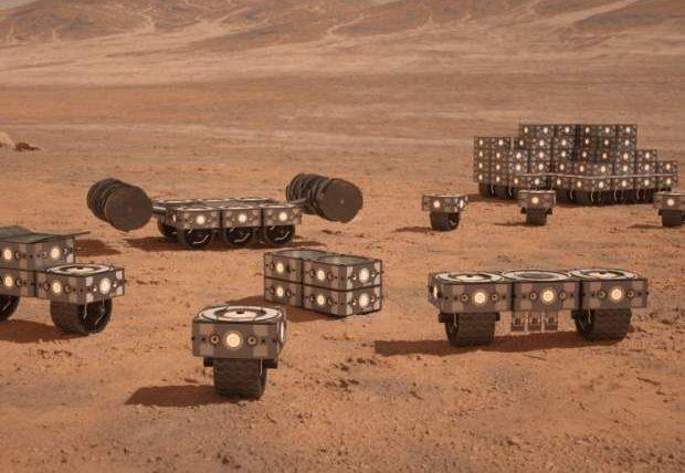 НАСА, Марс, капсулы,