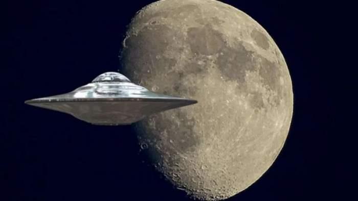 НЛО, Луна,