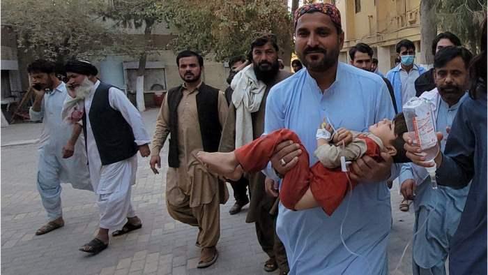Пакистан, землетрясение,