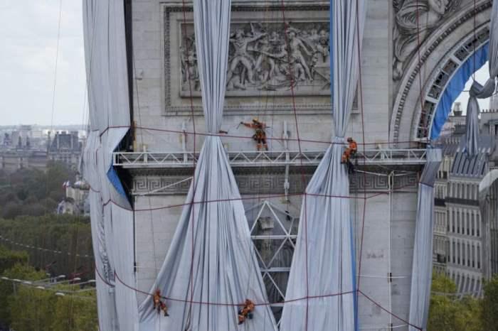 Париж, Триумфальная арка,