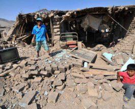 Перу, землетрясение,