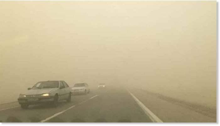 Песчаная буря, Иран,