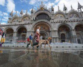 Сан-Марко, Венеция, наводнения,
