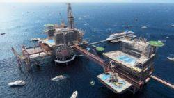 The Rig — Саудовская Аравия превратит нефтяную платформу в тематический парк