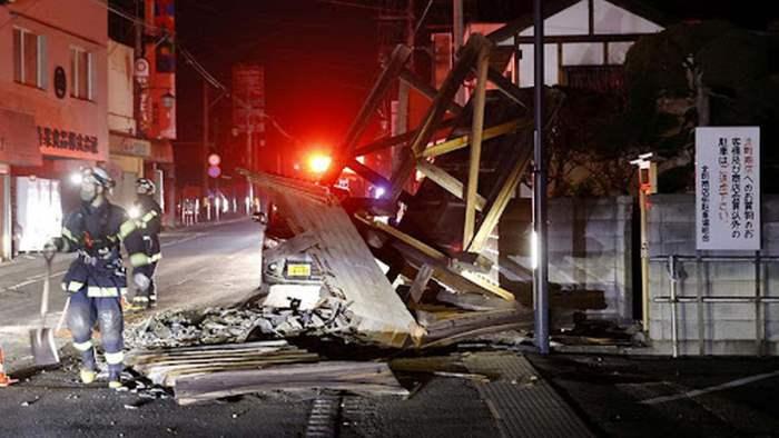 Токио, Япония, землетрясение,